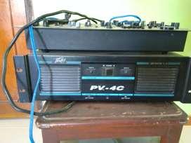 Vendo cabinas y amplificador peavey