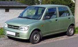 Daihatsu hatchback 2001 5 puertas en buenas condiciones generales