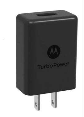 Cargador Turbo Original Motorola G8 G8 Plus G8 Power G8 Play One Macro s/cable