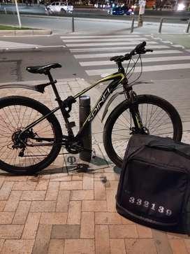 Ofrezco servicio de domicilios desde Bicicleta