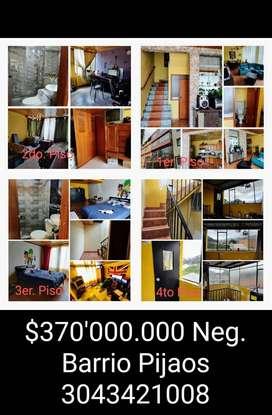 Casa en venta Los Pijaos Bogotá.