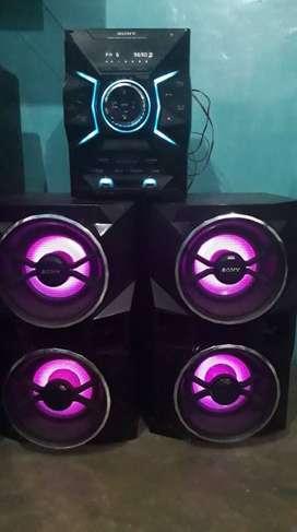 Sony MHC-GPX77 Negro 1800 W Sistema de audio