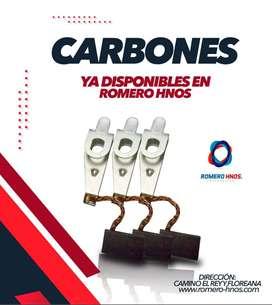 CARBONES DE ARRANQUE Y ALTERNADOR - MARCA BESSER