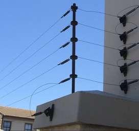 Olvídese de robos protéjase con cercos eléctricos y cámaras de seguridad somos instaladores directos a nivel nacional
