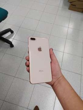 Iphone 8 plus rose gold 64 gb