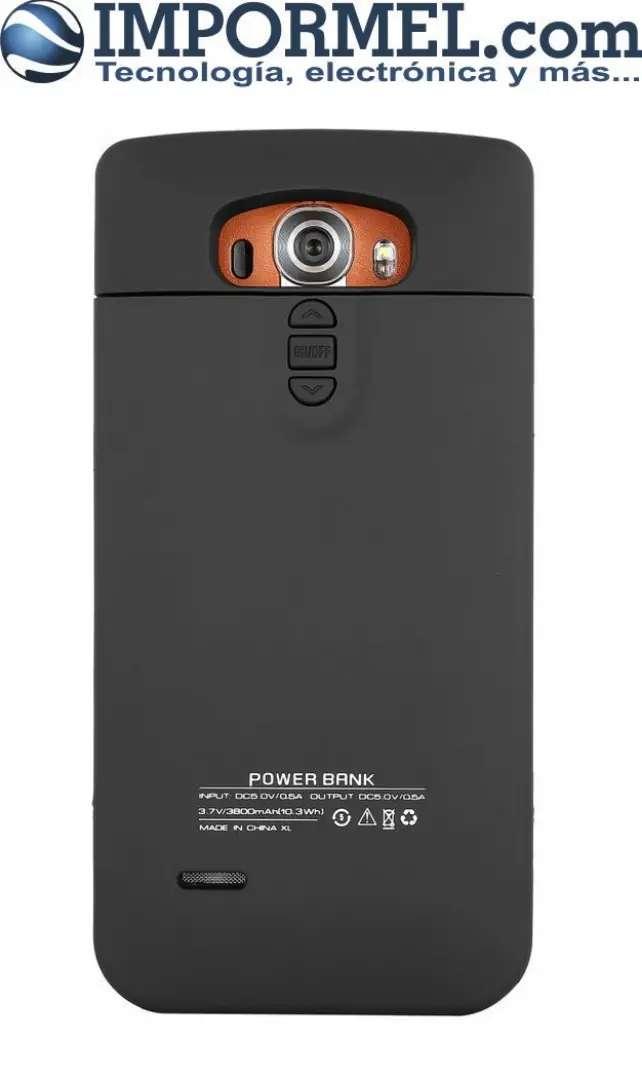 Estuche Carcaza Bateria Externa Case Lg G4 3800 Mah 0