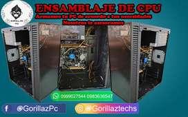 Reparación y ventas de computadoras