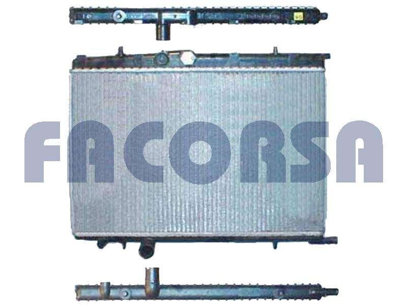 Radiador Peugeot 206 207 307 0