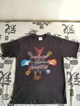 Camiseta guitar player talla M