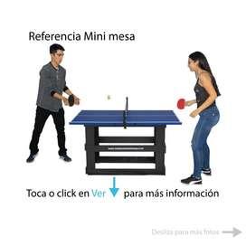 Mini mesa de ping pong - tenis de mesa - pin pon - pimpom mesa de pin pom