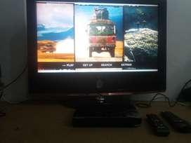 tv LG lcd 32 pulgadas y Blu-ray Samsung