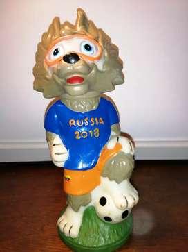 Mascota mundial de Rusia 2018 fútbol