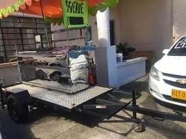 OFERTA OFERTA Se vende carro de comida rápida con remolque