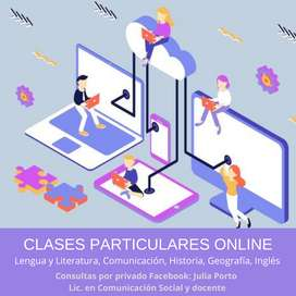 Clases particulares online nivel secundario