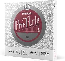 Encordado D'Addario J59 4c M Music Box Colombia Proarte Violonchelo
