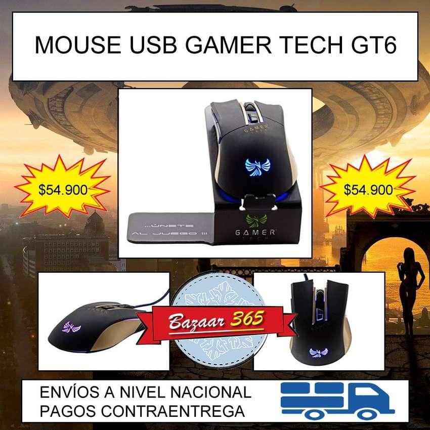 MOUSE USB GAMER TECH GT6 0