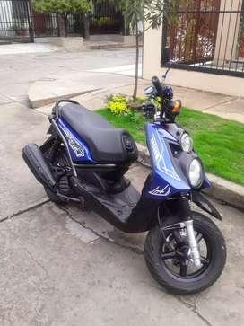 Se vende Yamaha Bwis 125  modelo 2014