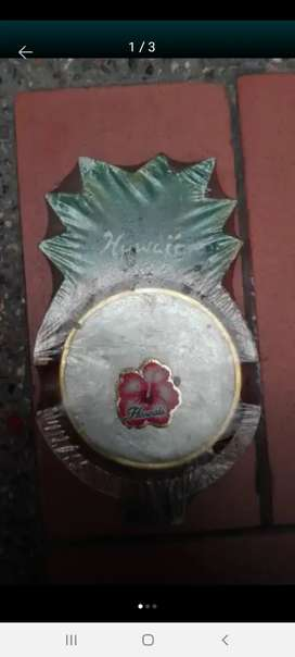 Antique Colombia vende o cambia Antiguo juego de portavasos de Hawai