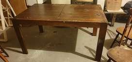Mesa extensible madera urgente por mudanza
