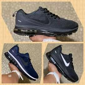 Zapatillas Nike AirMax cámara de aire 3 colores tejida nuevas