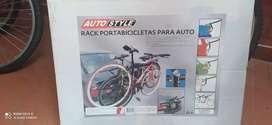 Vendo portabicicletas para auto AutoStyle