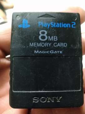 Vendo memoty card para play station 2 en perfecto estado