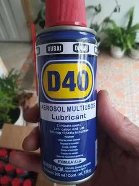 Lubricante antifriccionante en aerosol