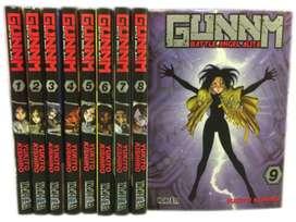 Gunnm - Battle Angel Alita (manga) 9 tomos!