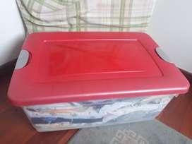 Caja Organizador Plástica 50lts