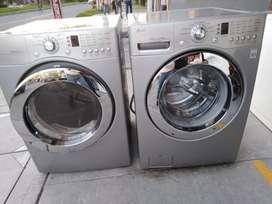 Vendo lavadora, secadora LG
