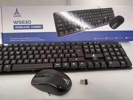 Combo de teclado y Mouse inalámbrico