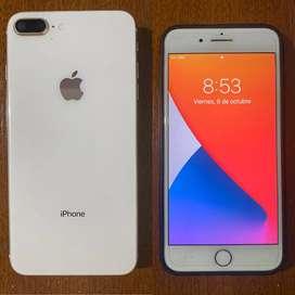 Vendo telefono iphone 8 plus en buen estado
