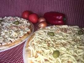 Pizzas pre-cocidas