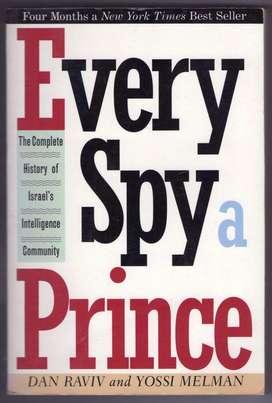 EVERY SPY A PRINCE RAVIV/MELMAN