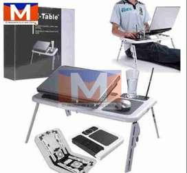 Mesa Para Laptop Con Ventilador  Portátil Plegable