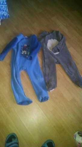 2 Pijamas enterizas talla 3 años DuPareil