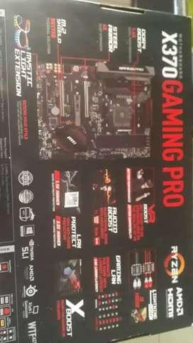 Board msi X 370 gaming pro