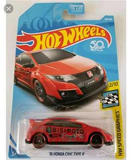 Hot Wheels 16' Honda Civic Type R