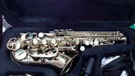 saxofon curvo soprano
