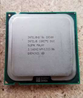 Procesador Intel Core 2 Duo E8500 * Excelente estado * 10/10