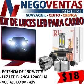 KIT DE LUCES LED R11 PARA CARRO
