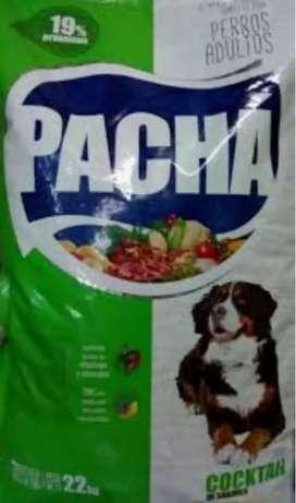 PACHA COCKTAIL ADULTO 22KG Alimento balanceado para perro adulto