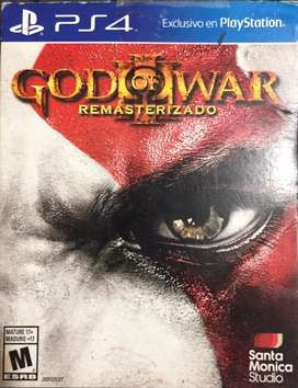 God of war resmasterizado ps4