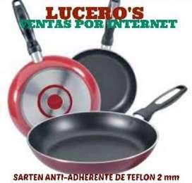 JUEGO DE 3 SARTENES