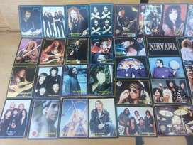Cards Collection international ROCK [LOTE]