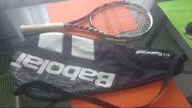 Vendo raqueta Babolat e-sense como nueva con funda $12.000
