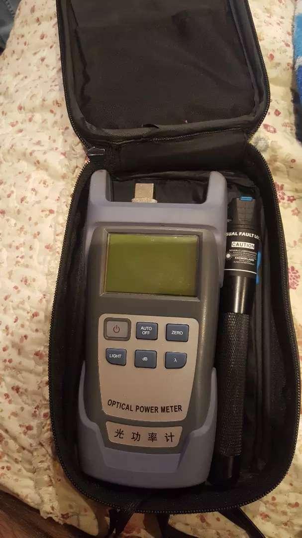 Medidor de potencia óptica 0