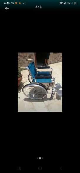 Vendo silla de ruedas en muy buen estado