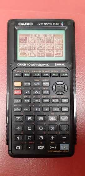 Calculadora Casio Cfx-9850gb Plus Excelente Estado. Negociab
