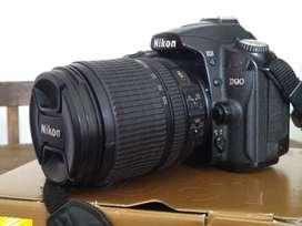Vendo Nikon D90 + 18-105 nikon